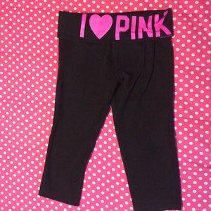 PINK Victoria's Secret Pants - Pink VS yoga capris